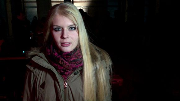 Rendelin päänäyttelijä Alina Tomnikov.