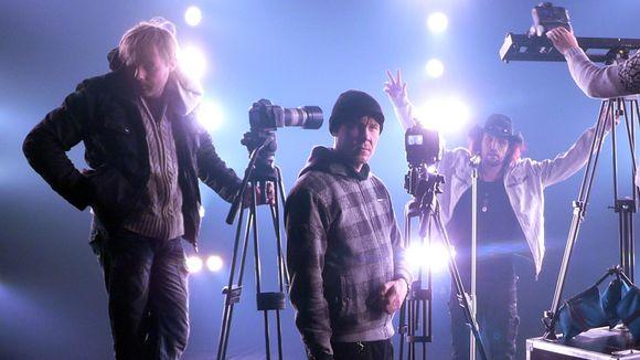 Musiikkivideon kuvaajat ja Tony Kakko