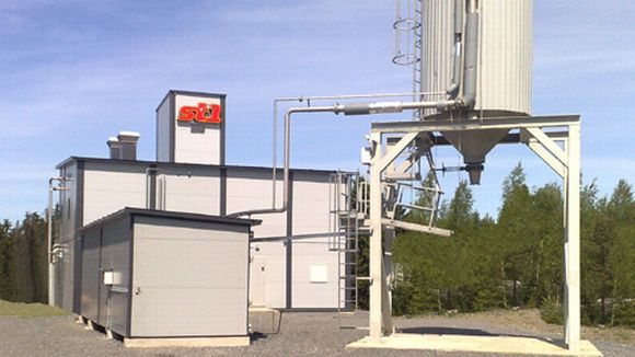 St1:n bioetanolitehdas Närpiössä