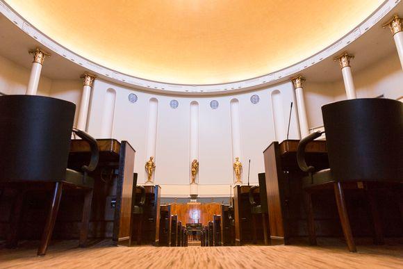 Eduskunnan istuntosali