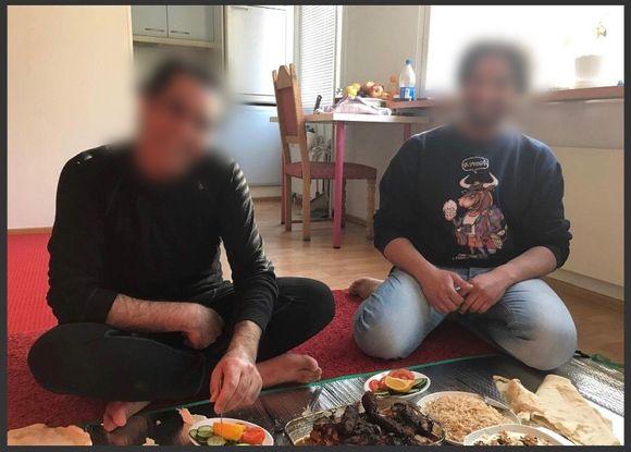 Irakissa tapettu Ali miehen vielä ollessa Suomessa (kuvassa vasemmalla).
