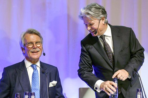 Björn Wahlroos ja Casper von Koskull