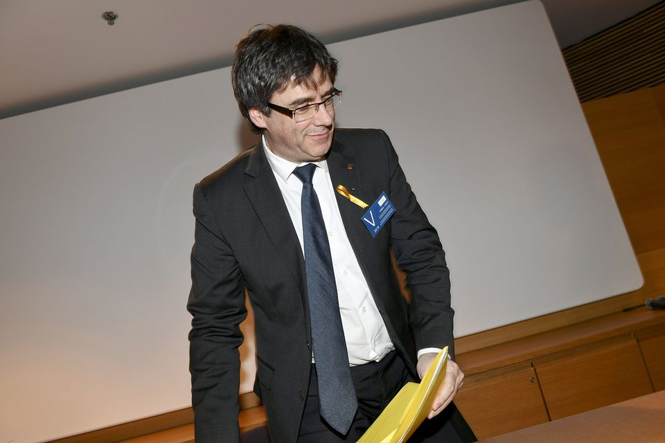 Carles Puigdemont, Catalan Ex-Leader, Is Detained by German Police