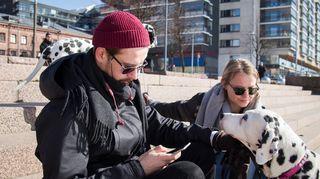 Teemu Otasalo ja Madeleine Nousiainen