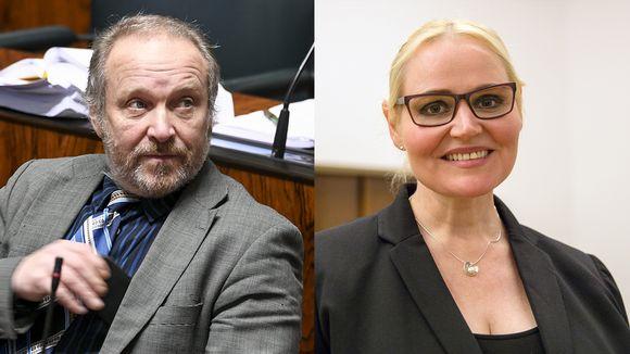 Teuvo Hakkarainen ja Veera Ruoho