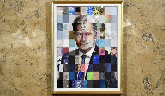 Tasavallan presidentti Sauli Niinistön muotokuva