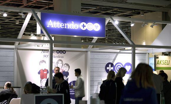 Attendon osasto Lääkäri 2018 -tapahtumassa Helsingissä.
