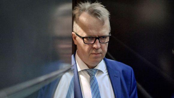 Tullin pääjohtaja Antti Hartikainen.