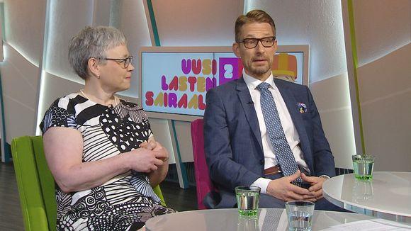 Mervi Taskinen ja Jari Petäjä