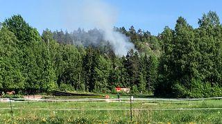 metsästä tulee savua