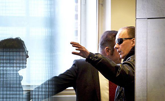 Michael Penttilä hovioikeudessa.