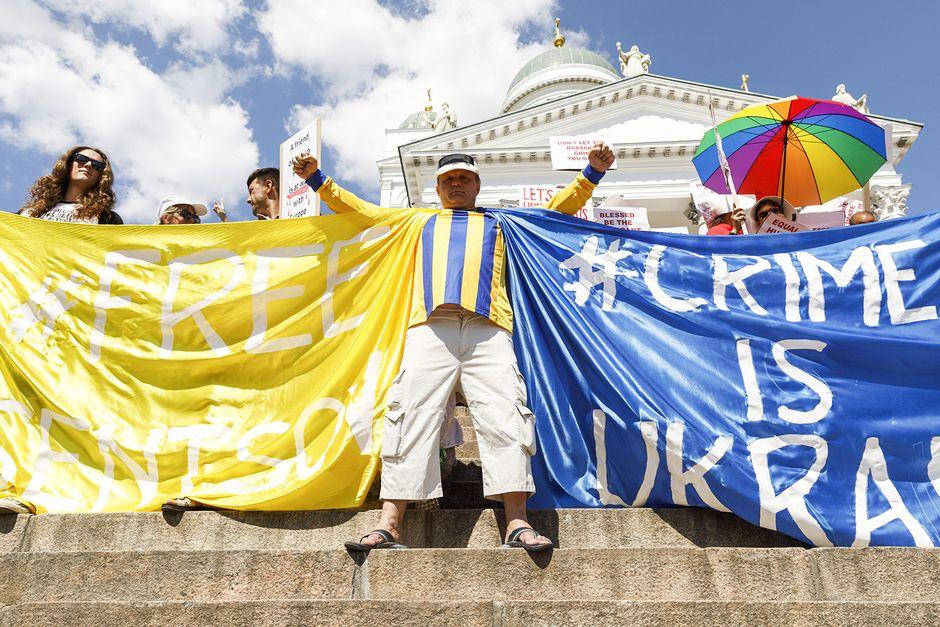 Видео: Helsinki Calling -mielenosoitus