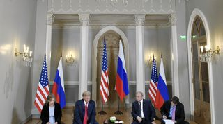 Видео: Donald Trump ja Vladimir Putin tapaavat