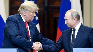 Видео: Donald Trumpin ja Vladimir Putinin tiedotustilaisuus presidentinlinnassa.