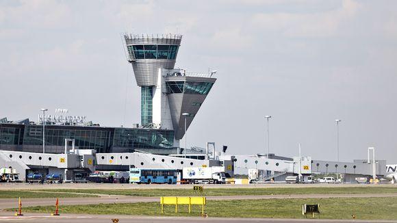 Lennonjohtotorni Helsinki-Vantaa lentokentällä.