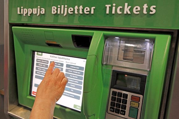 Cash sales to end on Finnish trains