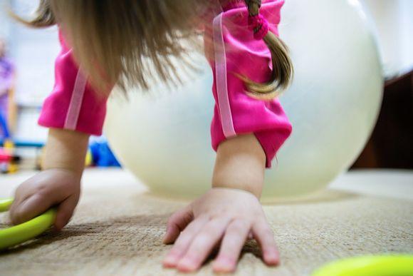 Lapsi fysioterapiassa