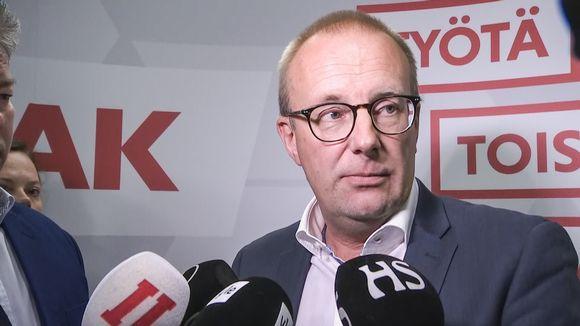 SAK:n puheenjohtaja Jarkko Eloranta