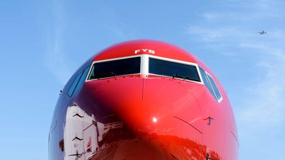 Norwegianin lentokone