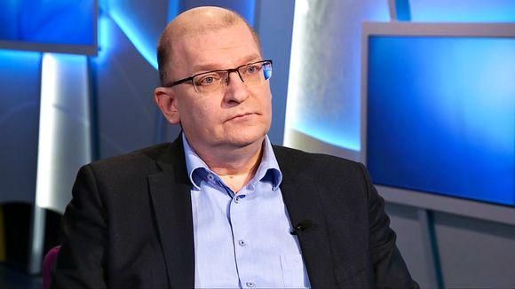 Riku Aalto Ykkösaamussa 10. lokakuuta.