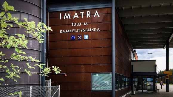 Ulkokuva Imatran raja-asemalta