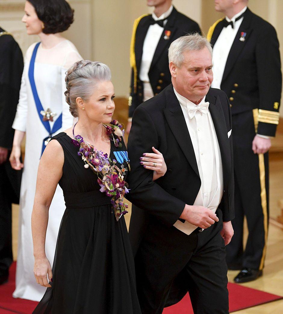 Antti Rinne ja puoliso Heta Ravolainen-Rinne