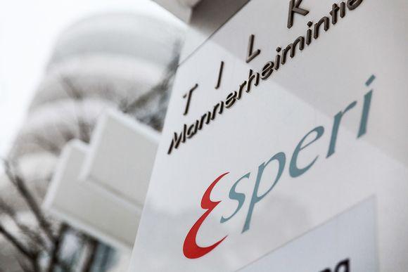 Esperi Oy.n toimipiste Tilkka Helsingissä