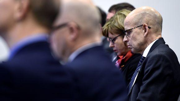 Valtiovarainministeriön kansliapäällikkö, valtiosihteeri Martti Hetemäki esitteli VM:n virkamiesarvion ensi vaalikauden talous- ja hallintopolitiikasta tiedotustilaisuudessa Helsingissä 4. helmikuuta.