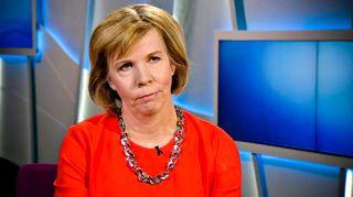 Anna-Maja Henriksson Ykkösaamussa lauantaina 23. helmikuuta.
