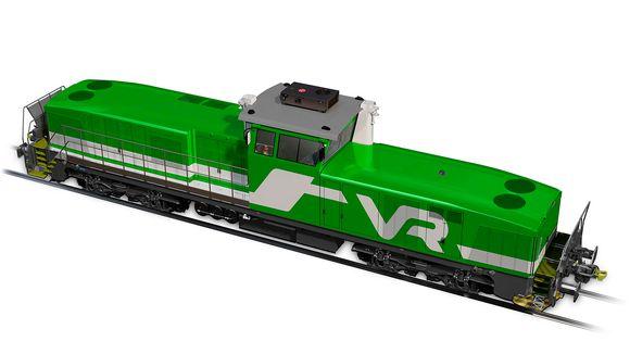 Havainnekuva uudesta dieselveturista
