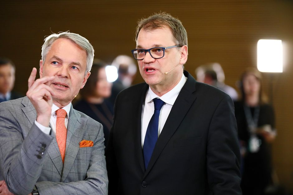 Pekka Haavisto ja Juha Sipilä