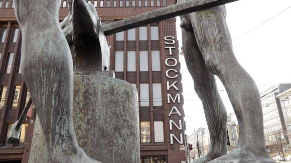 Stockmannin tavaratalo Helsingissä.