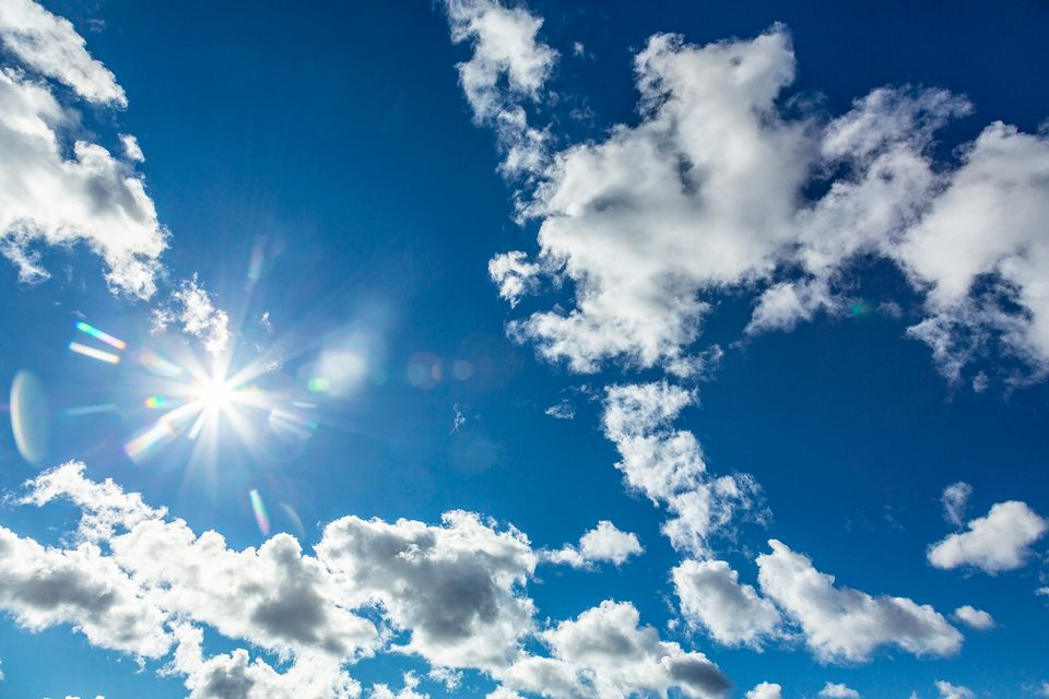 Sunshine and rain in store for graduation day