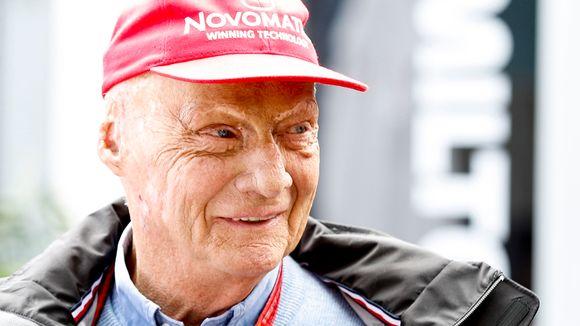 Niki Lauda Australian Formula 1 Grand Prix'ssä vuonna 2018.