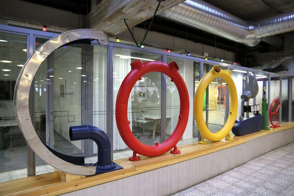 Google Haminan palvelinkeskus.
