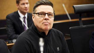 Helsingin huumepoliisin entinen päällikkö Jari Aarnio häntä koskevassa ns. tynnyrijuttua käsittelevässä hovioikeuden istunnossa