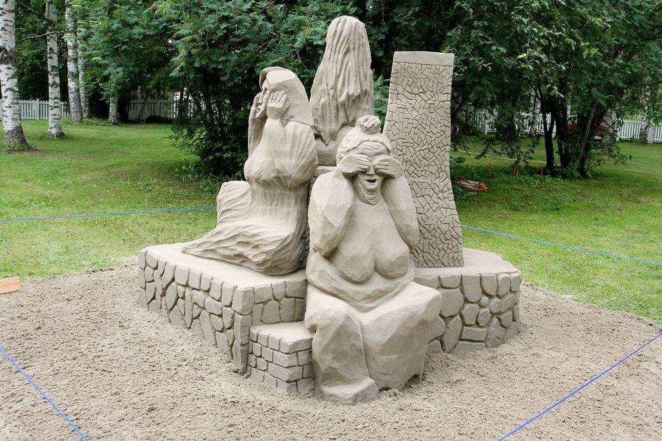 Marika Walldénin teos Aistikkaasti