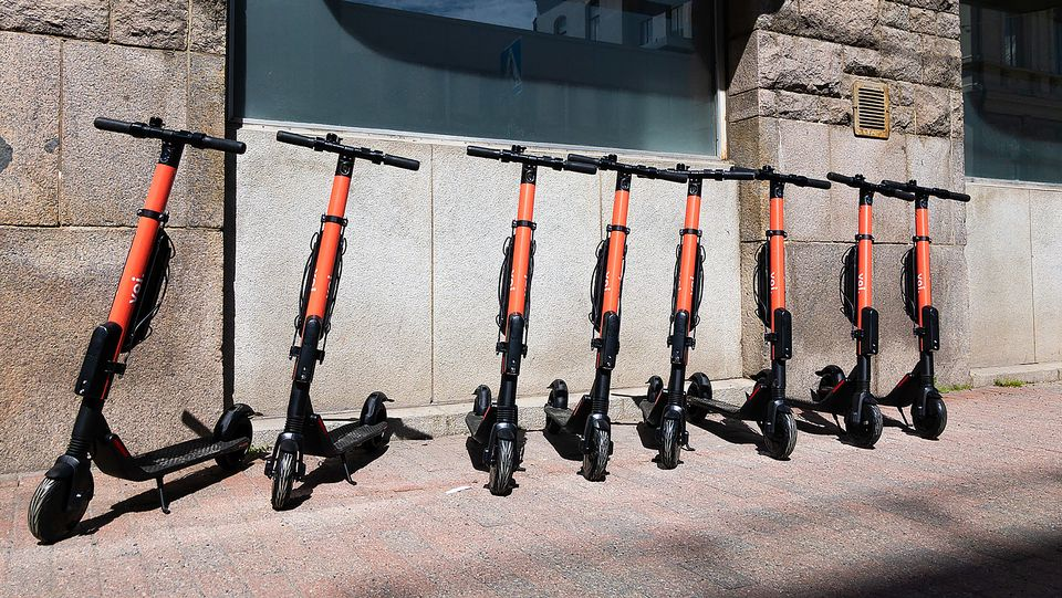 Rent-a-scooter injuries increasingly common in Helsinki