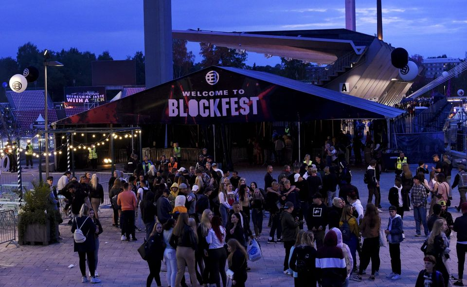 Minors among hundreds suspected of drug-related offences during Blockfest