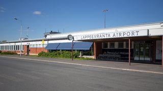Lappeenrannan lentokenttä kuvattuna 18. elokuuta.