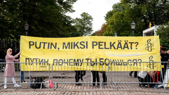 Putin mielenosoitus amnesty