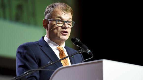 Keskustan väistyvä puheenjohtaja Juha Sipilä piti jäähyväispuheen keskustan ylimääräisessä puoluekokouksessa Kouvolassa lauantaina 7. syyskuuta.