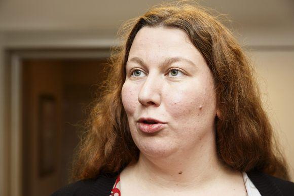 Posti- ja logistiikka-alan unionin (PAU) puheenjohtaja Heidi Nieminen.