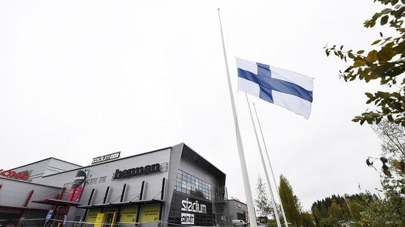 Suruliputus kauppakeskus Hermanissa Kuopiossa.