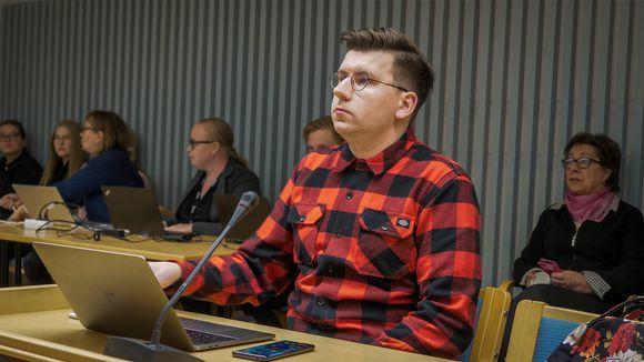 Perussuomalaisen kansanedustaja Sebastian Tynkkysen oikeudenkäynti 3.10.2019.