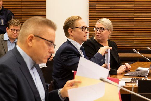 Ilja Janitskinin asianajaja Anu Koivu hovioikeudessa 14. lokakuuta.