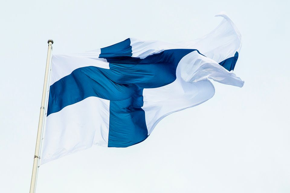 Finland officially raises flags for Father's Day