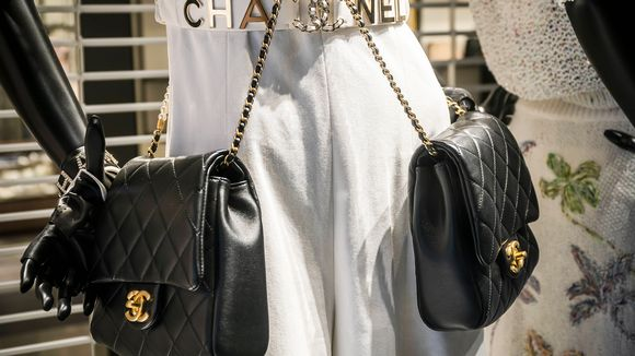Chanelin näyteikkuna.