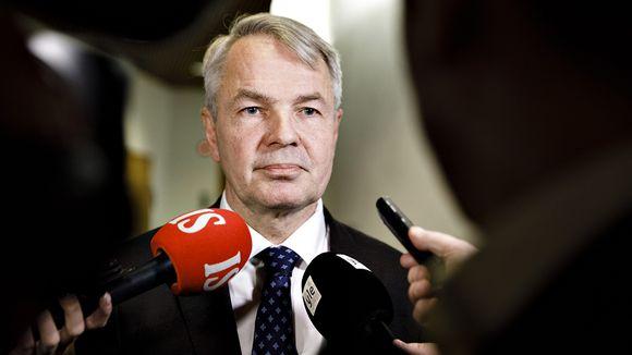 Ulkoministeri Pekka Haavisto ulkoasiainvaliokunnan kuultavana eduskunnassa Helsingissä 3. joulukuuta 2019.