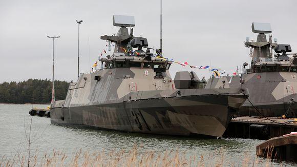 Hamina-luokan ohjusvene.